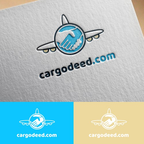 Shipping logo with the title 'cargodeed.com'