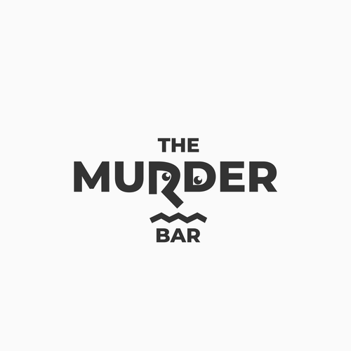 Unique logo with the title 'The Murder Bar'