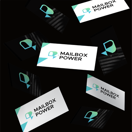 Lightning design with the title 'Mailbox Power'