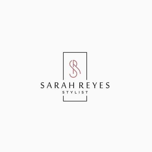 Stylist design with the title 'SARAH REYES STYLIST'