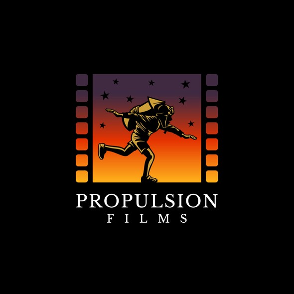Production house logo with the title 'Winner of Propulsion Films'