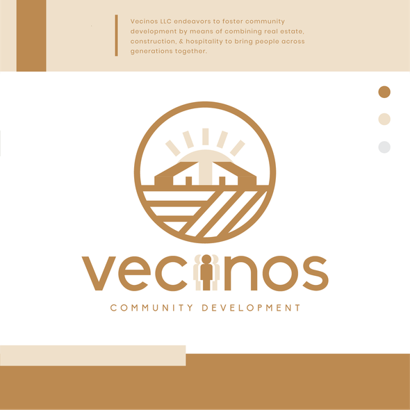 House design with the title 'Vecinos'
