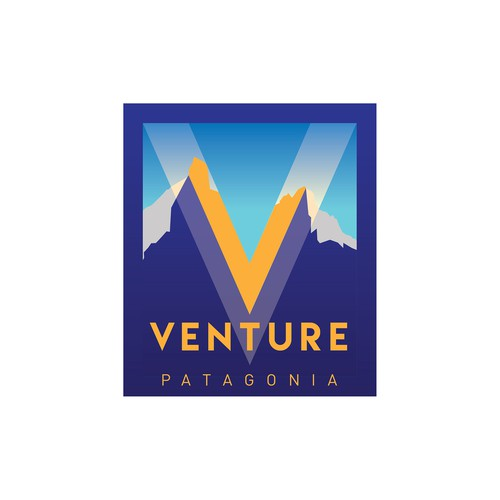 Leisure logo with the title 'Logo concept for Patagonian adventure travel agency.'