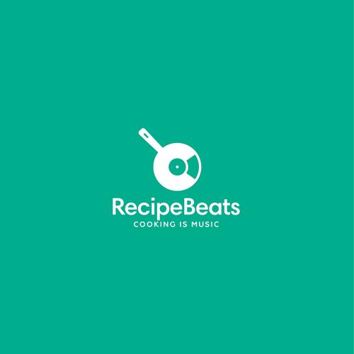 Recipe design with the title 'RecipeBeats Logo'