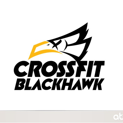 Blackbird logo with the title 'Crossfit Blackhawk'