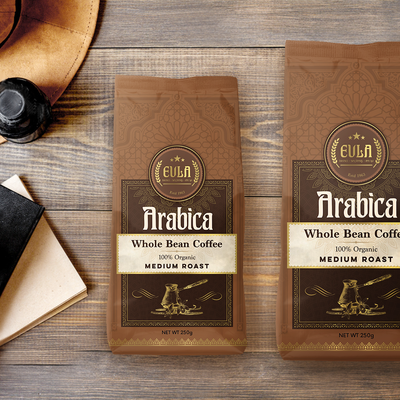 Turkish Coffee, pouch design