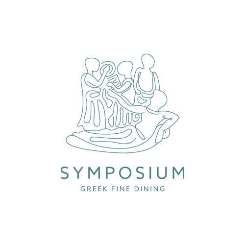 Dining logo with the title 'Symposium'