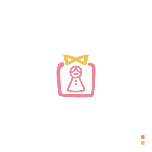 Doll logo with the title 'Pop In The Doll Shop'