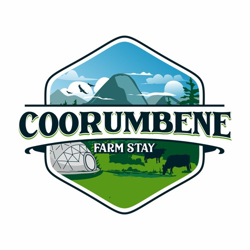 Infinity brand with the title 'corumbene contest logo'