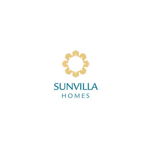 Home builder logo with the title 'Concept for Sunvilla Homes, a homebuilder'