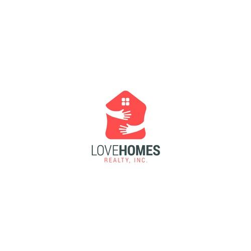 Hug logo with the title 'Love Homes'