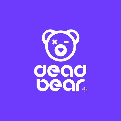 Purple and black design with the title 'DEADBEAR'