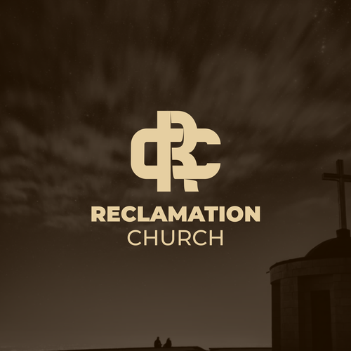 Cross logo with the title 'Reclamation Church'