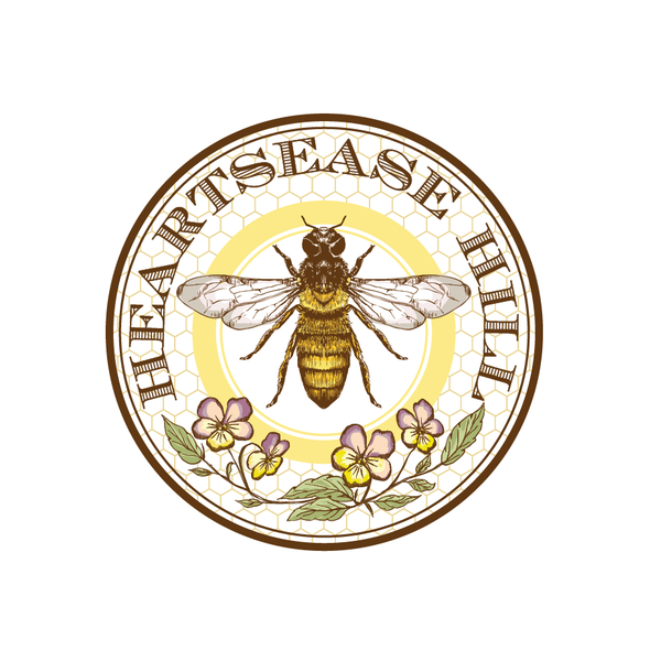 Honey logo with the title 'New logo wanted for Heartsease Hill'