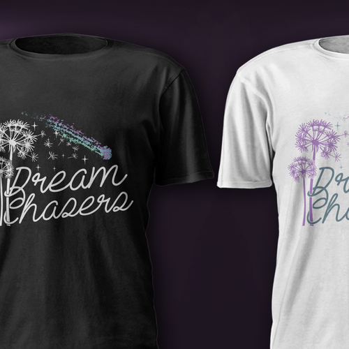 Star t-shirt with the title 'Dream Chasers'