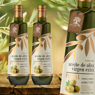 "Label Extra Virgin Olive Oil ""lisaina"""