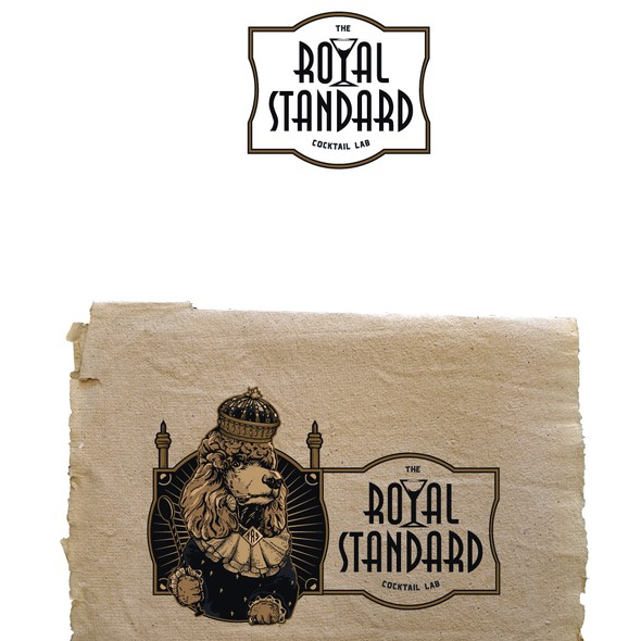 Throne design with the title 'The Royal Standard'