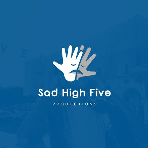 Sad design with the title 'Sad High Five'