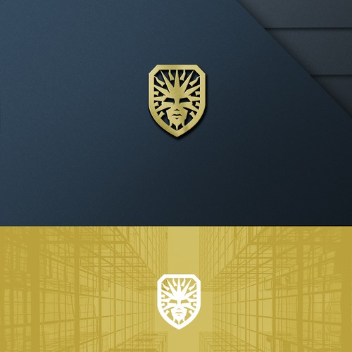 Mythical logo with the title 'Helios Logo For Sale'
