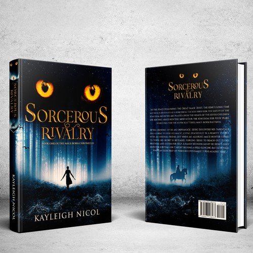 Fantasy book cover with the title 'Debut Author Seeks Epic Fantasy Cover Art'