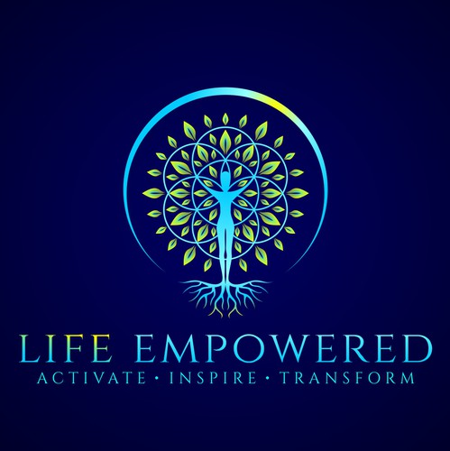 Life logo with the title 'Life Empowered Logo'