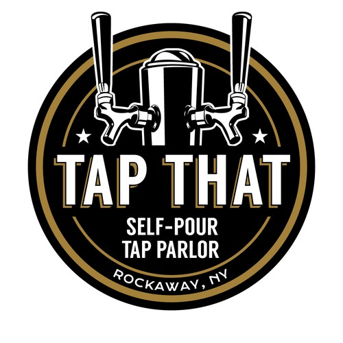 American logo with the title 'Logo for Tap House'