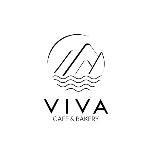 Vancouver design with the title 'Logo concept for Viva Cafe & Bakery'