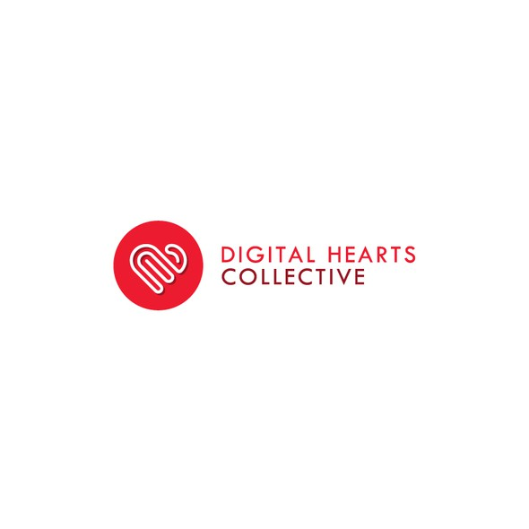 Incubator logo with the title 'Digital Hearts Collective'