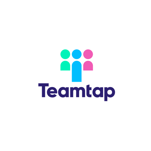 Organization design with the title 'teamtap logo'