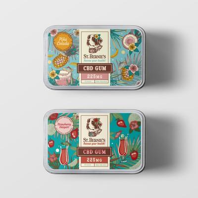 Summer flavours for St. Bernie's CBD gums