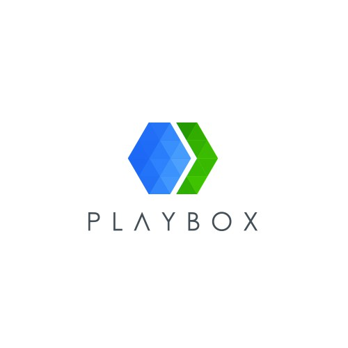 Concert design with the title 'Playbox logo'