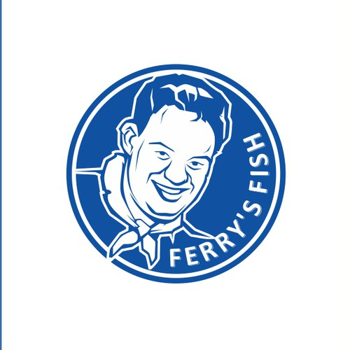 EPS design with the title 'illustration cartoon mascot logo'