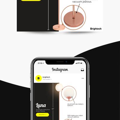 Instagram Banner Ad Design