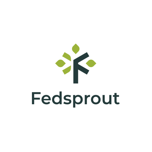 Logo with the title 'Fedsprout'