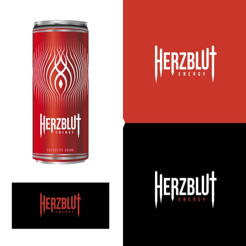 Pack logo with the title 'Herzblut Energy Logo'