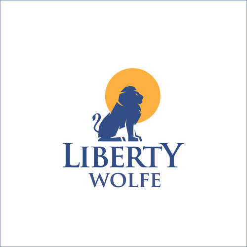 Liberty design with the title 'Liberty Wolfe'
