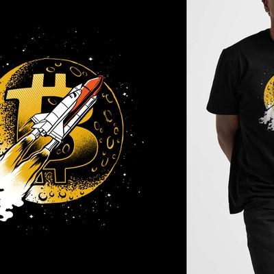 Bitcoin to the moon!