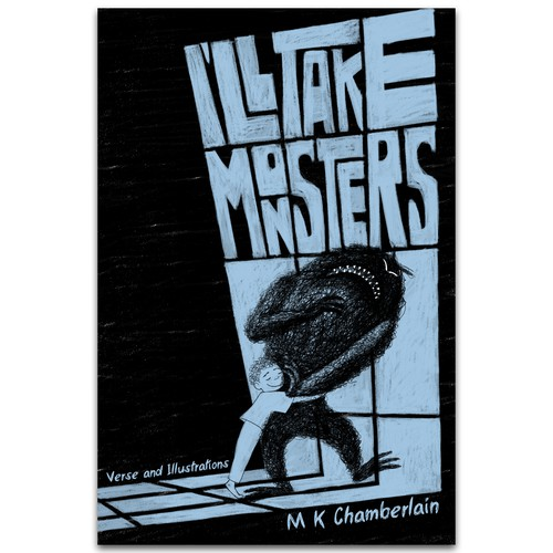 Book cover illustration with the title 'I'll take monsters'