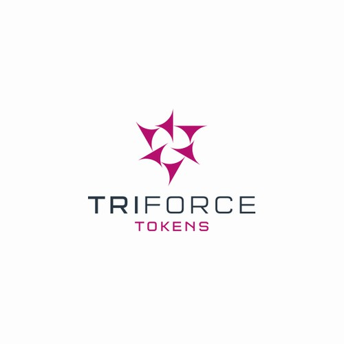 Aggressive design with the title 'Triforce Logo (proposal)'