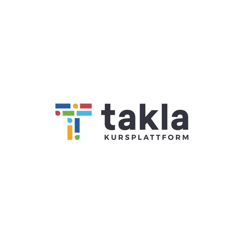 Course design with the title 'Takla'