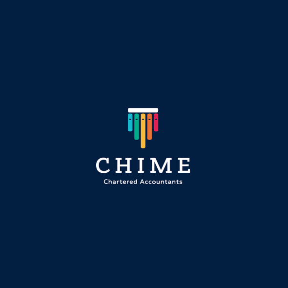 Accountant logo with the title 'Chime Logo'