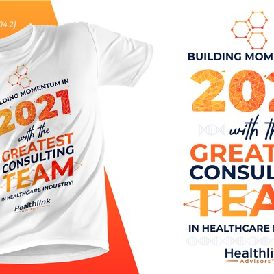 2021 T shirt design for Healthlink Advisors