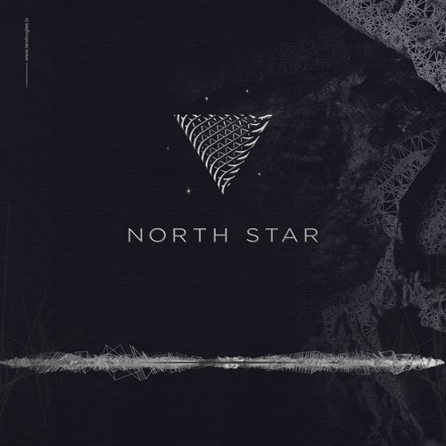 Logo with the title 'Shimmering mark for NorthStar'