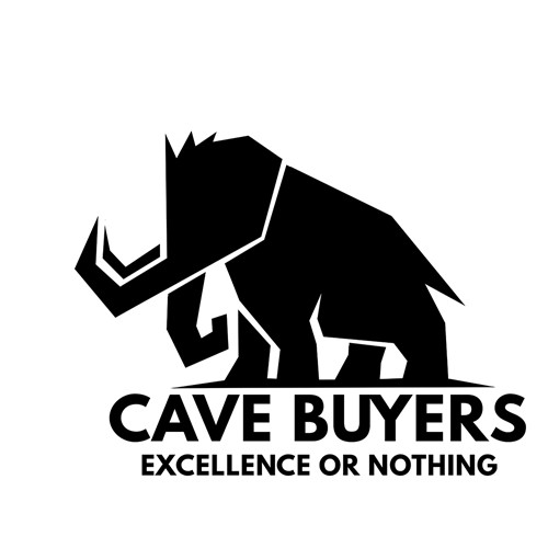 Primitive logo with the title 'Cave Buyers'
