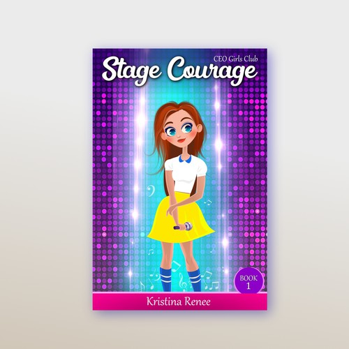 Stage design with the title 'Stage Courage'
