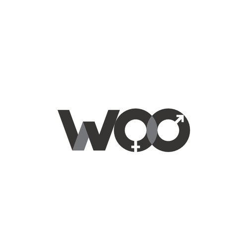 Unisex logo with the title 'Logo for minimalist design products marketplace.'