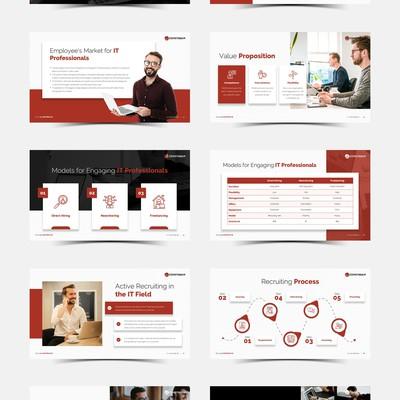 Comstream Presentation Design