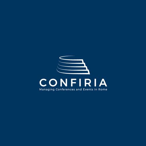 Winner logo with the title 'Bold logo concept for Confiria'