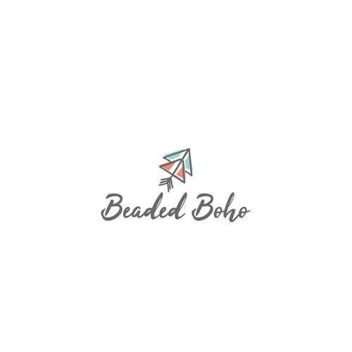 Boho logo with the title 'Logo concept for a Bohemian Women's apparel industry'