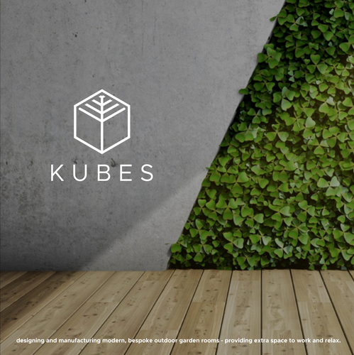 Cubic logo with the title 'KUBES'